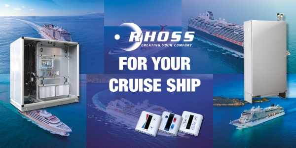 COMFORT AND TECNOLOGY ON YOUR CRUISE SHIP.